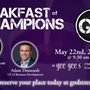 Men's Breakfast of Champions, May 22nd, 2021